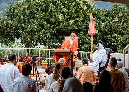 Satsang with Swamiji