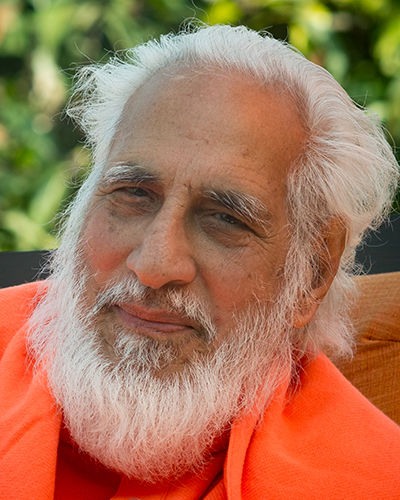 Swamiji during satsang